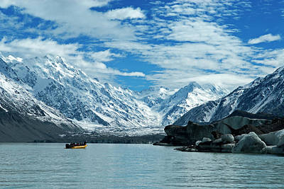 Terminal Photograph - New Zealand, South Island by David Noyes