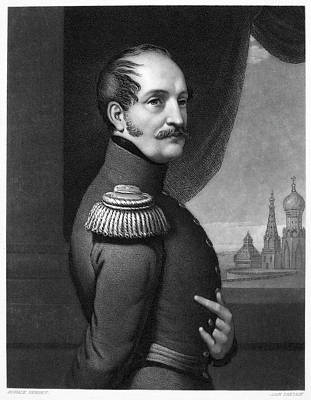 Nicholas I (1796-1855) Art Print