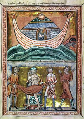 Psalter Painting - Noah's Ark by Granger