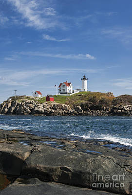 Nubble Lighthouse Art Print by John Greim