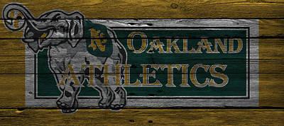 Baseball Photograph - Oakland Athletics by Joe Hamilton