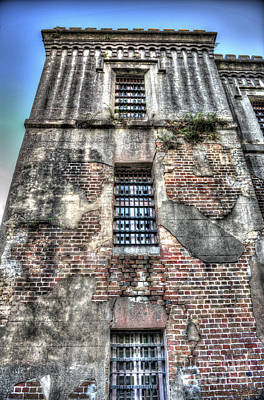 Photograph - Downtown Jail  by Dale Powell