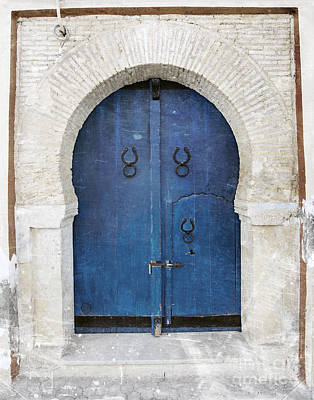 Sidi Bou Said Photograph - Old Door by Paul Fell