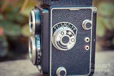 Old Vintage Camera Art Print by Sabino Parente