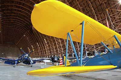 Or, Tillamook, Tillamook Air Museum Art Print by Jamie and Judy Wild