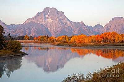 Photograph - Oxbow Bend Grand Teton National Park by Fred Stearns