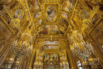 Palais Garnier Interior Art Print by Brian Jannsen