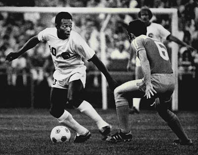 Pele Wall Art - Photograph - Pele by Retro Images Archive