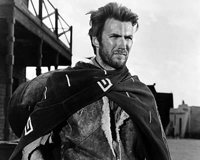 Clint Eastwood Photograph - Per Un Pugno Di Dollari  by Silver Screen