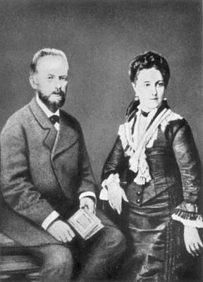 Peter Ilich Tchaikovsky (1840-1893) Art Print