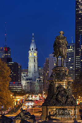 Philadelphia Skyline Art Print by John Greim