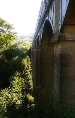 Aqueduct Digital Art - Pontcysyllte Aqueduct by Doc Braham
