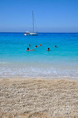 Photograph - Porto Katsiki Beach by George Atsametakis