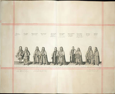 Clergy Photograph - Procession by British Library