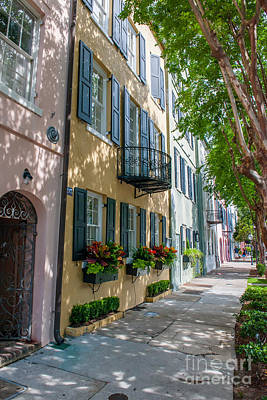 Photograph - Rainbow Row by Dale Powell