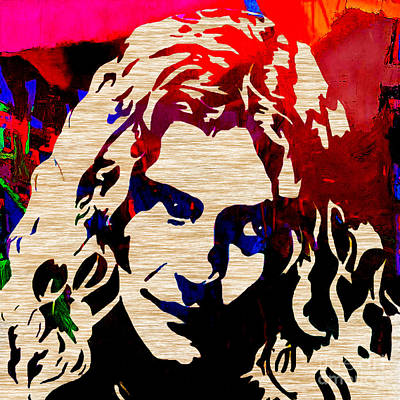Jimmy Page Mixed Media - Robert Plant by Marvin Blaine