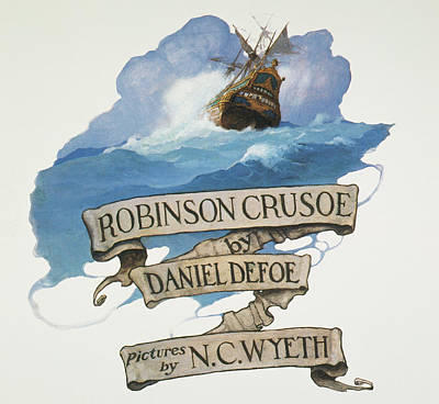 Painting - Robinson Crusoe, 1920 by Granger