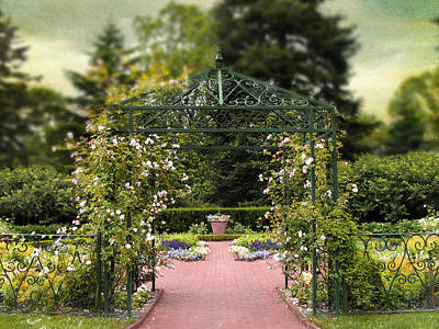 Rose Arbor Art Print by Jessica Jenney