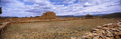 Ancient Civilization Photograph - Ruins Of The Pecos Pueblo Mission by Panoramic Images