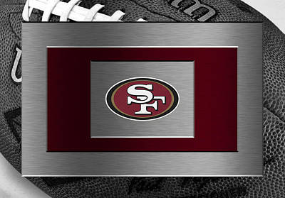San Francisco 49ers Art Print by Joe Hamilton