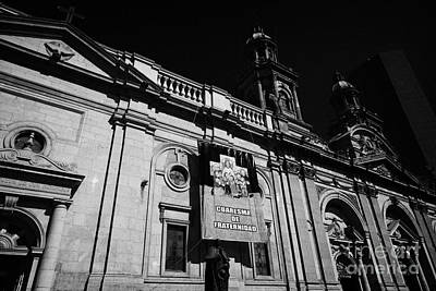 Santiago Metropolitan Cathedral Chile Art Print by Joe Fox