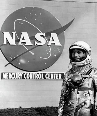 Control Center Photograph - Scott Carpenter by Nasa