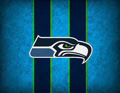 Seattle Photograph - Seattle Seahawks by Joe Hamilton