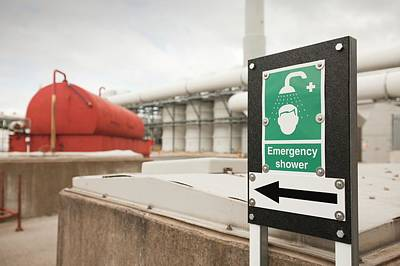 Sewage Photograph - Sewage Odour Suppressant Plant by Ashley Cooper