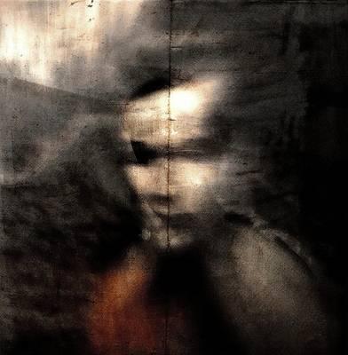 Texture Photograph - Shadows (portrait) by Dalibor Davidovic