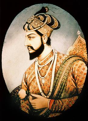 Persian Miniature Painting - Shah Jahan (1592-1666) by Granger