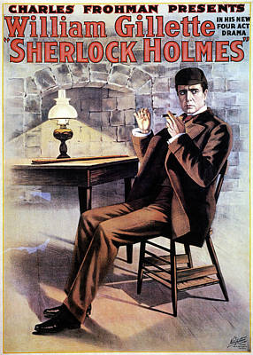 Holm Painting - Sherlock Holmes by Granger