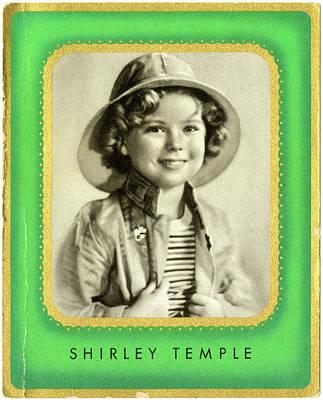 Shirley Temple (1928 -2014), American Art Print