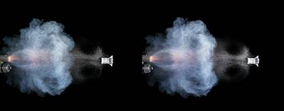 High Speed Photograph - Shotgun Shot by Herra Kuulapaa � Precires