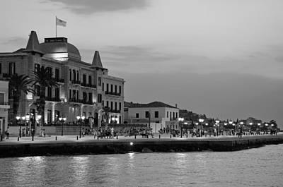 Dusk Photograph - Spetses Town by George Atsametakis