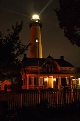 Photograph - St Simons Island Lighthouse 2 by Kathryn Meyer