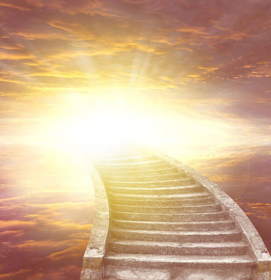 Heaven Photograph - Stairway To Heaven by Les Cunliffe