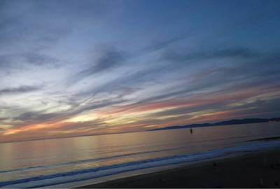 Photograph - Sundown At Redondo by Marian Jenkins