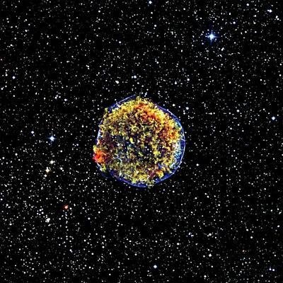 X-ray Image Photograph - Supernova Remnant by Nasa