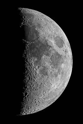 Light And Dark Photograph - Surface Of The Moon by Babak Tafreshi