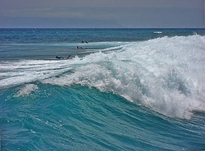 Surfing. Canary Islands. Art Print