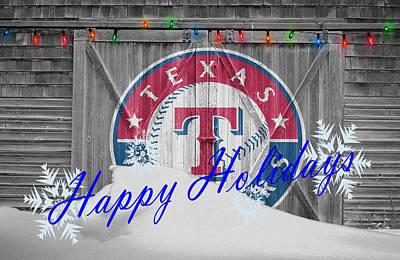 Photograph - Texas Rangers by Joe Hamilton