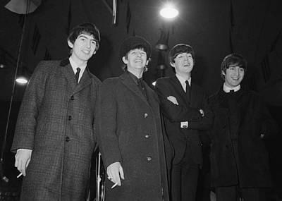 Ringo Photograph - The Beatles, 1964 by Granger