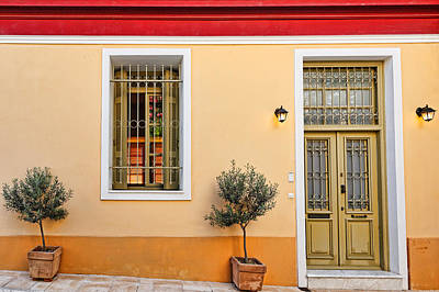 Famous Residents Photograph - The Famous Plaka In Athens - Greece by Constantinos Iliopoulos
