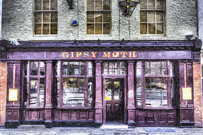 Popular Rustic Neutral Tones - The Gipsy Moth Pub Greenwich by David Pyatt