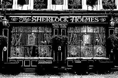 Revolutionary War Art - The Sherlock Holmes Pub by David Pyatt