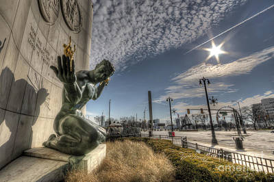 City Hall Photograph - The Spirit Of Detroit by Twenty Two North Photography