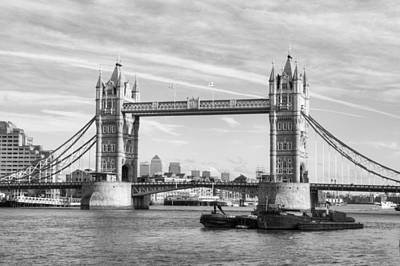 Photograph - Tower Bridge by Chris Day