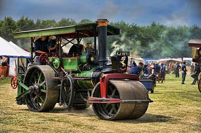 Traction Engine Print by Jeff Dalton