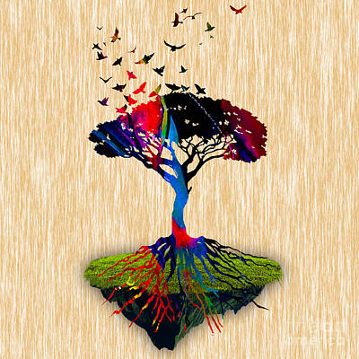 Tree Of Life Painting Art Print