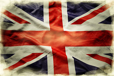 Celebrating Freedom Photograph - Union Jack  by Les Cunliffe